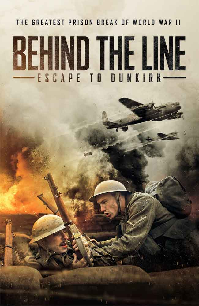 Ver Behind the Line: Escape to Dunkirk Online