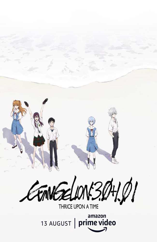 Ver Evangelion: 3.0+1.0 Thrice Upon a Time Online